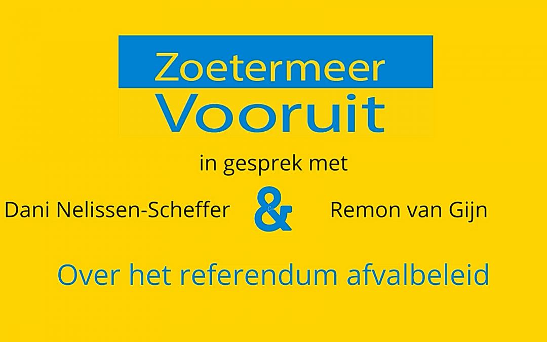 Interview referendum afvalbeleidsplan