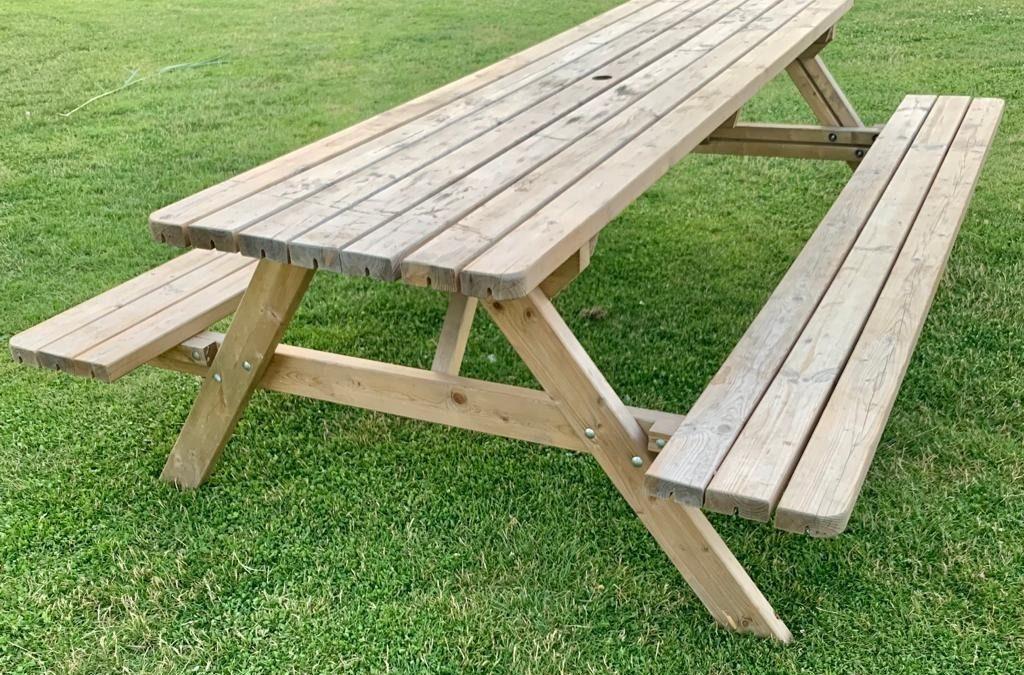 Picknicktafels ook voor rolstoel