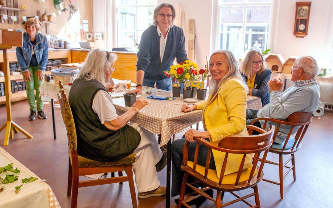 Zoetermeer Vooruit bezoekt Tuingezel op Alzheimerdag